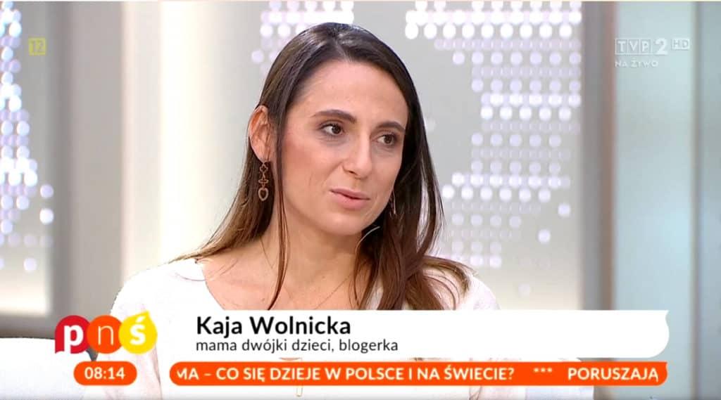 Kaja Wolnicka pisze blog parentingowy Moi Mili