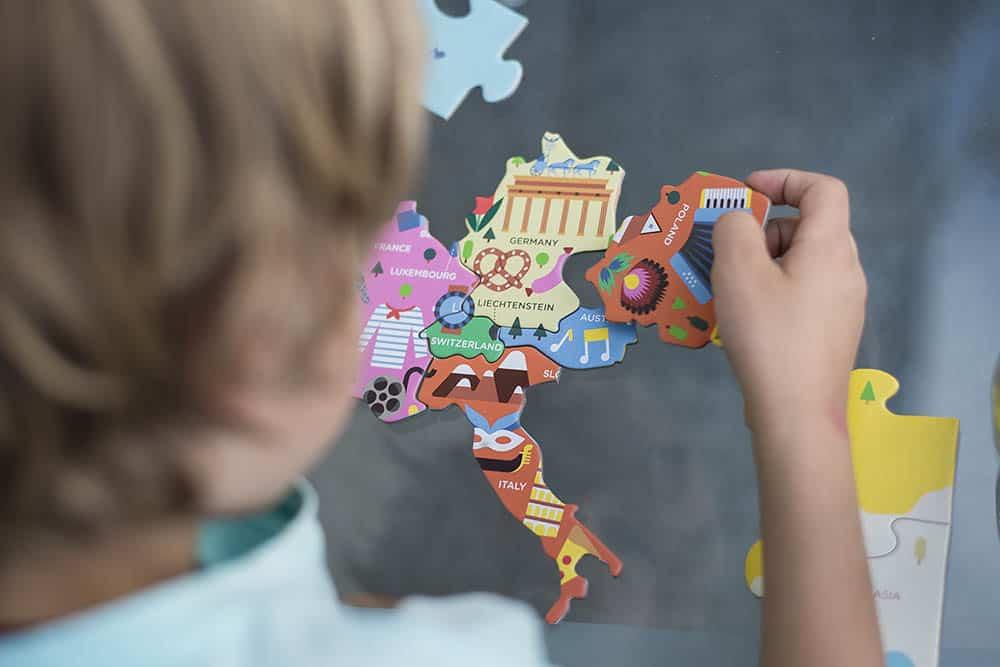 puzzle - mapa