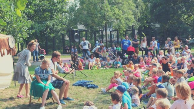Bajkowy Teatr Baza | Plenerowe spektakle dla dzieci