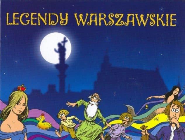 Legendy Warszawskie - spacer dla dzieci