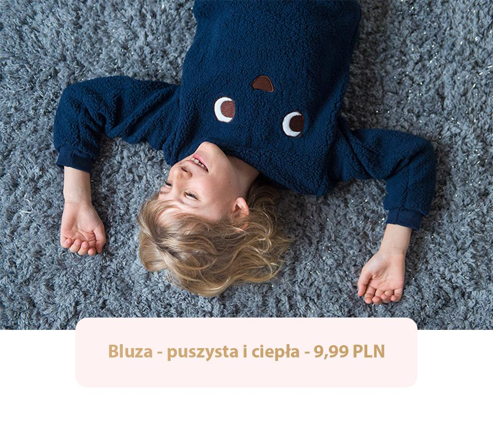 Jesienne bluzy dla chłopca? W Pepco znajdziesz je w różnych kolorach - na zdjęciu piękny, głęboki granat!