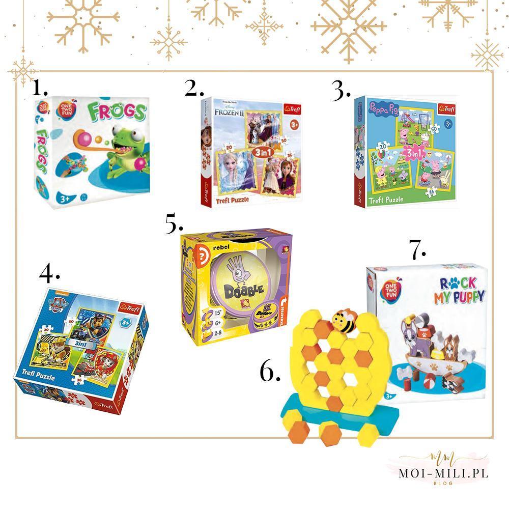 Zabawki dla czterolatka mogą bawić całą rodzinę - grając w te gry świetnie spędzicie czas!