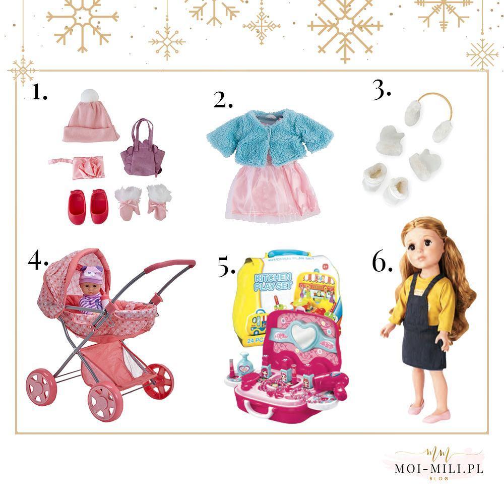 Zabawki dla czterolatka - nie może zabraknąć tu lalek i akcesoriów dla nich.