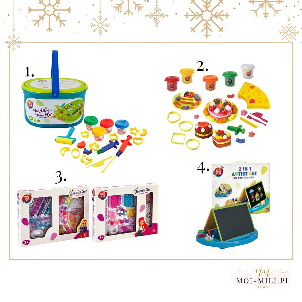 Zabawki dla czterolatka - plastelina, ciastolina i przeróżne koraliki dostarczą świetnej zabawy i wspomagają ćwiczenie małej motoryki.
