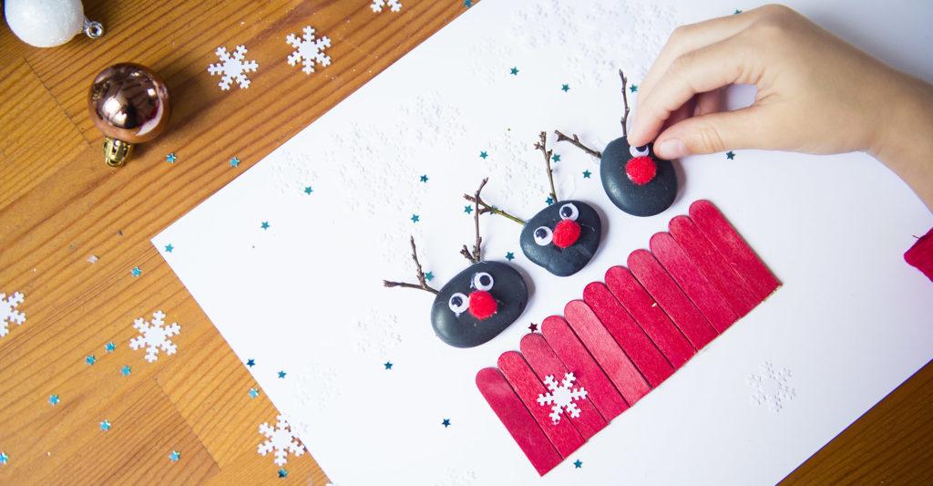 Ozdoby świąteczne, które zrobisz razem z dziećmi - poradnik krok po kroku, zdjęcia i spis potrzebnych materiałów.