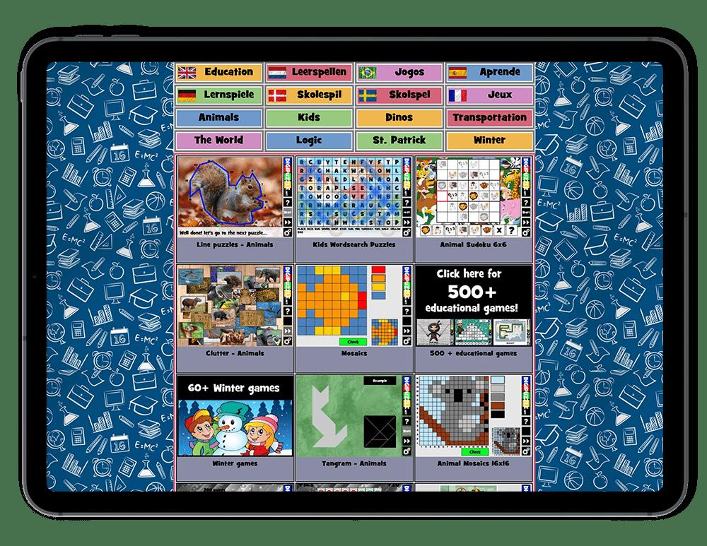 Zgadywanki, kolorowanki i wiele więcej aktywności dla dzieci w sieci.