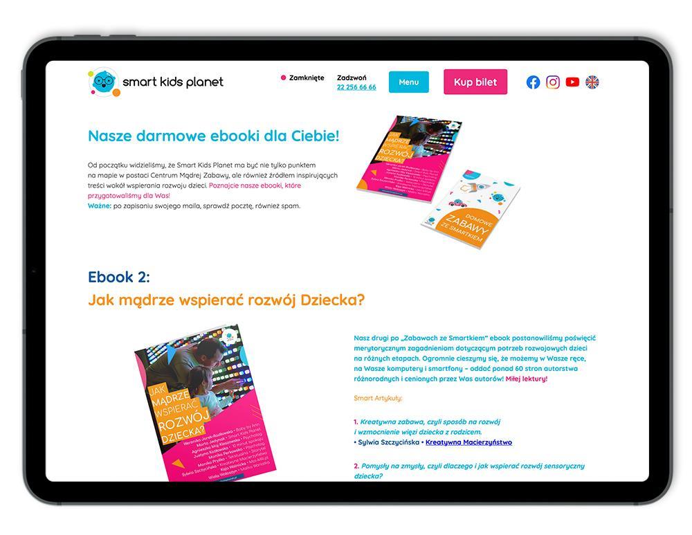 Darmowe ebooki od Smart Kids Planet to kopalnia kreatywnych pomysłów dla rodziców.