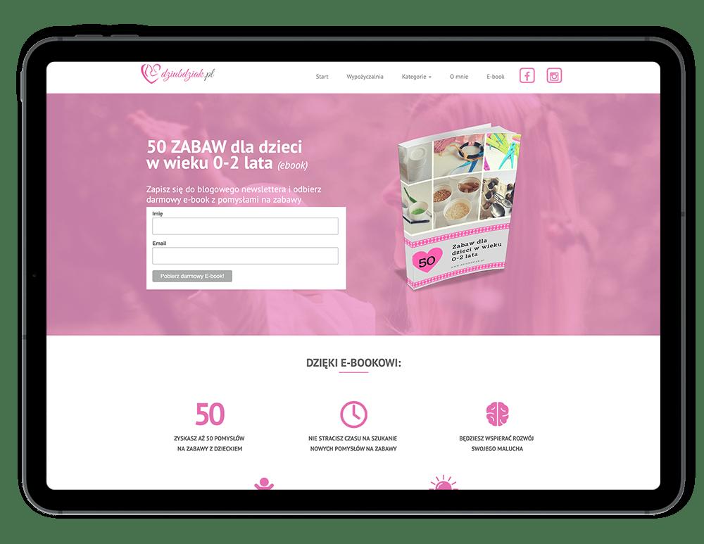 Darmowe ebooki z zabawami dla dzieci 0-2 lata.