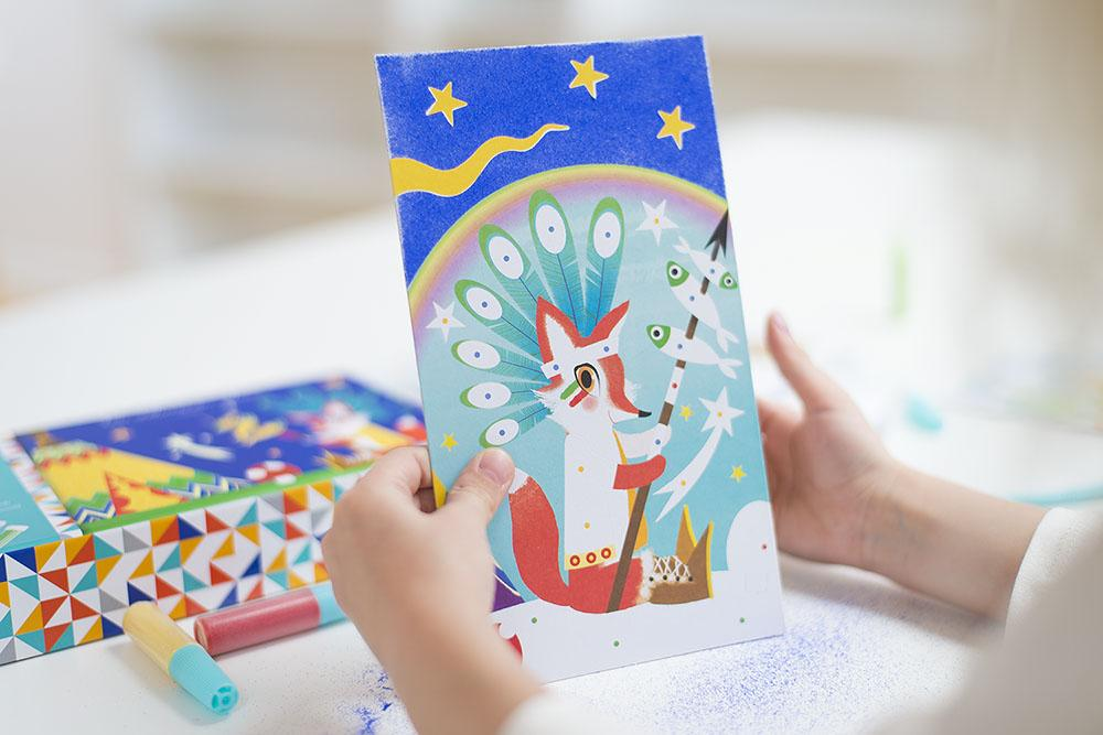 Zestawy kreatywne to ciekawy sposób na zabawę z dzieckiem.