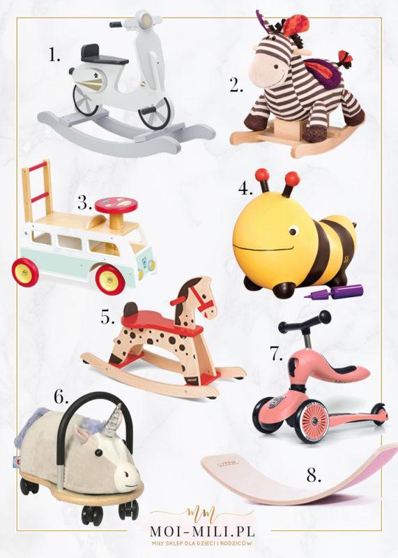 Bujaki dla niemowląt to prezent, który spodoba się dziecku i rodzicom.
