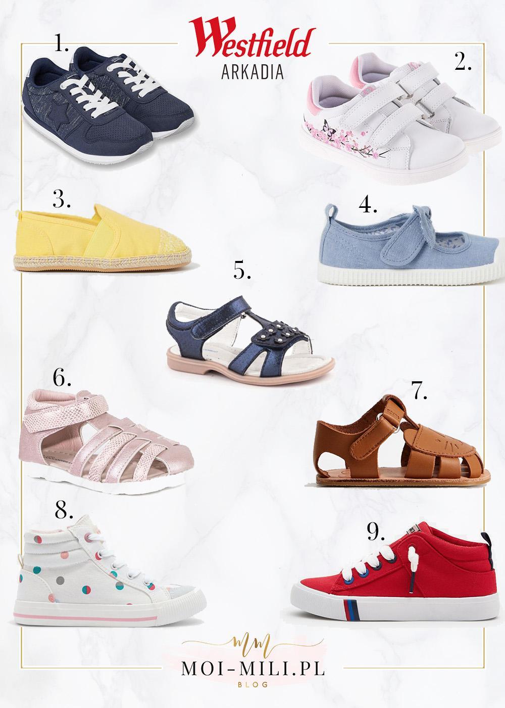 Wiosenne ubrania dla dzieci to nie wszystko, potrzebne będą jeszcze odpowiednie buty.