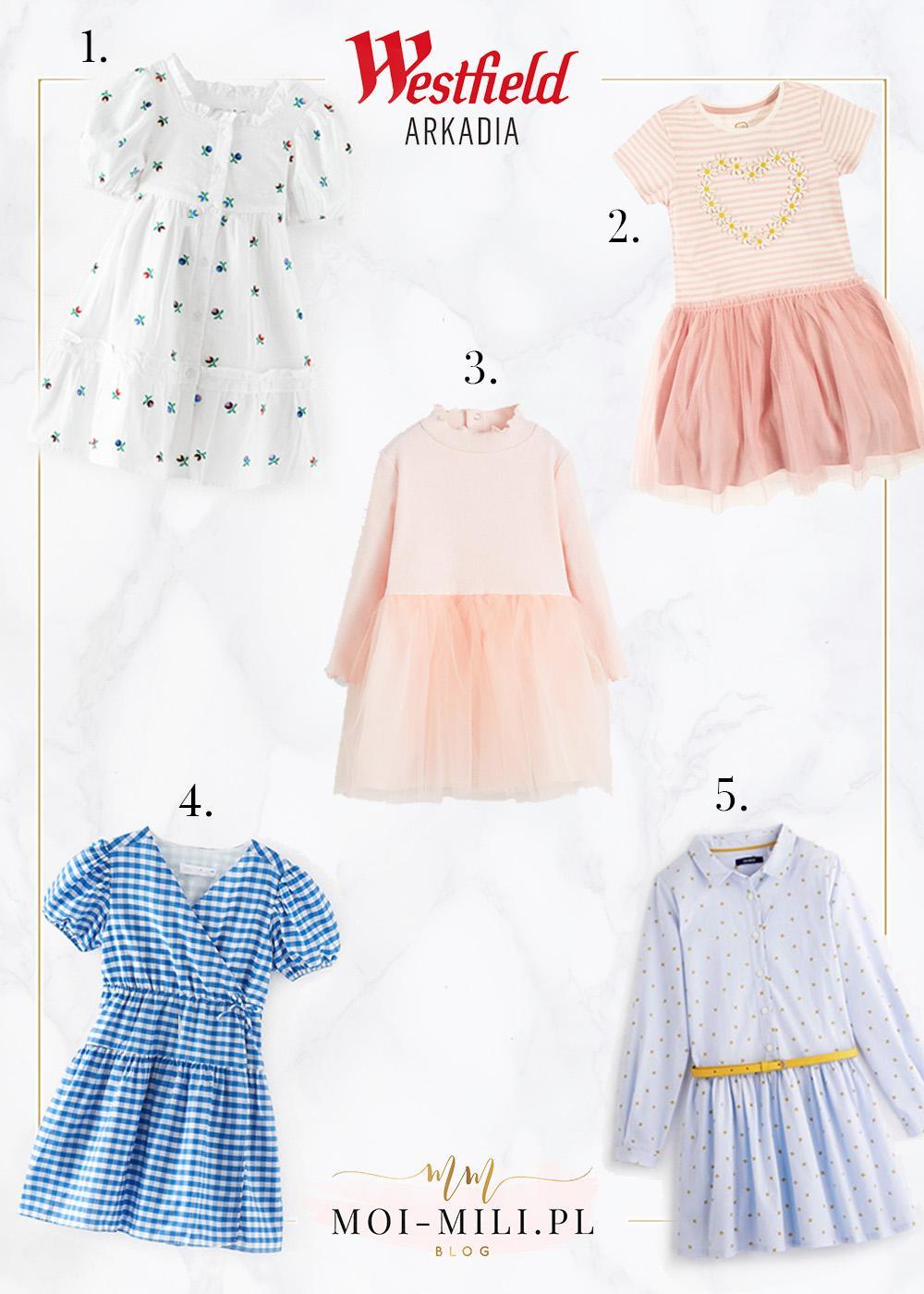 Wiosenne ubrania dla dzieci - zestawienie najpiękniejszych sukienek.