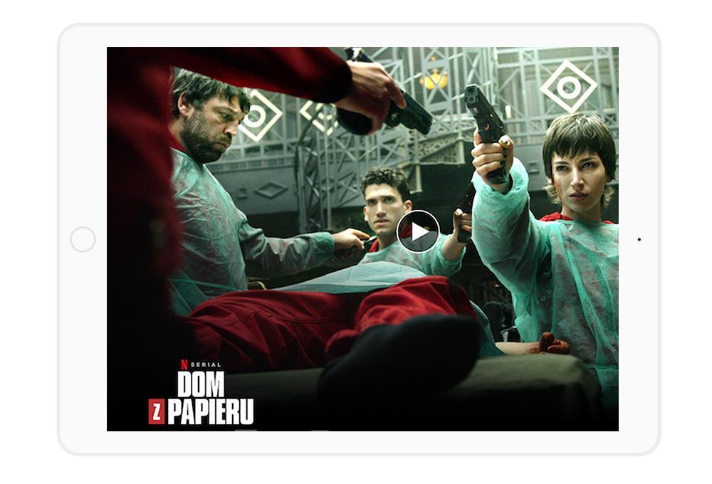"""Najlepsze seriale Netflix - zdecydowanie jedno z miejsc na podium wędruje do """"Domu z papieru""""."""