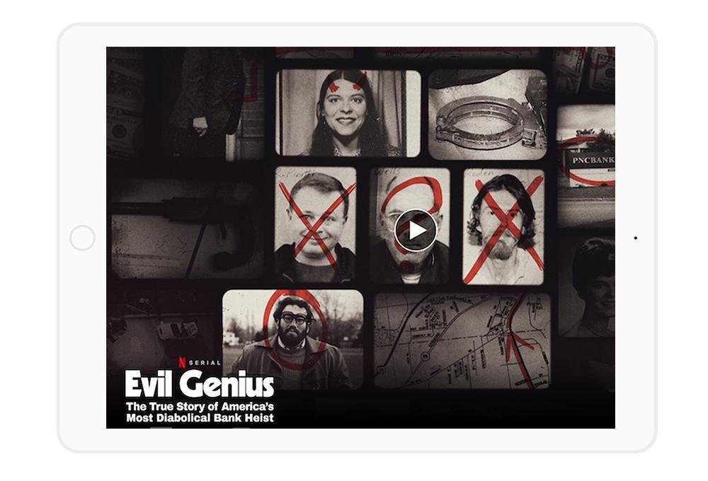 Najlepsze seriale Netflix - wśród nich propozycja dokumentalna typu true crime.