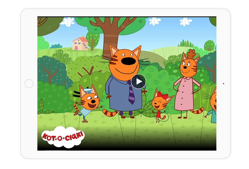 Netflix dla dzieci to również bajki dla najmłodszych - jak Kot-o-ciaki.
