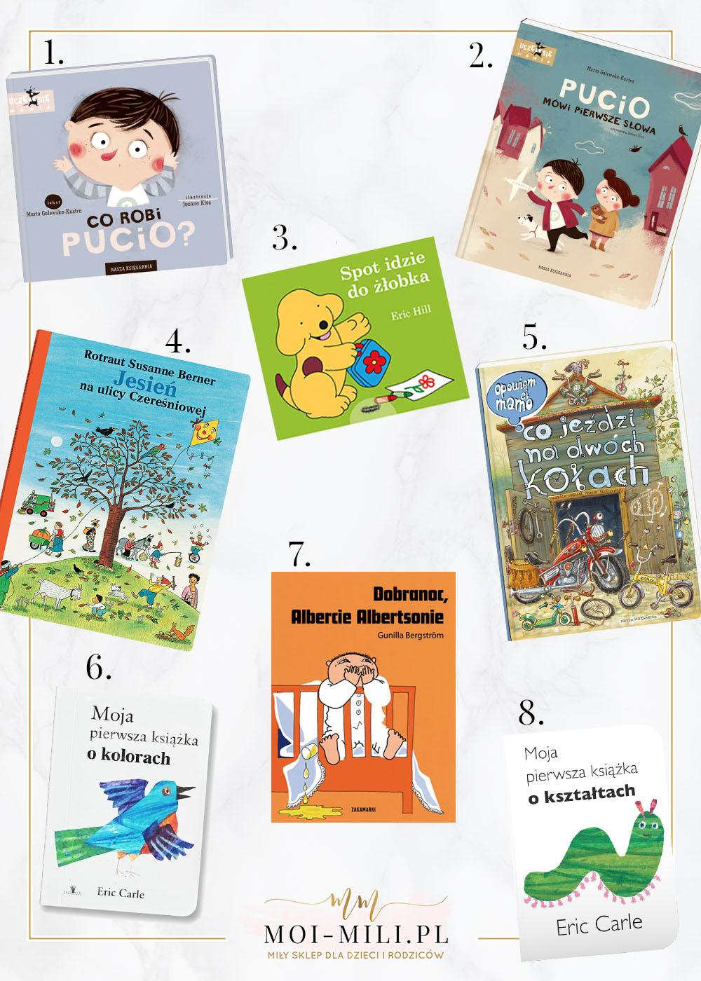 Książki to dobry pomysł na prezent dla dzieci w każdym wieku.