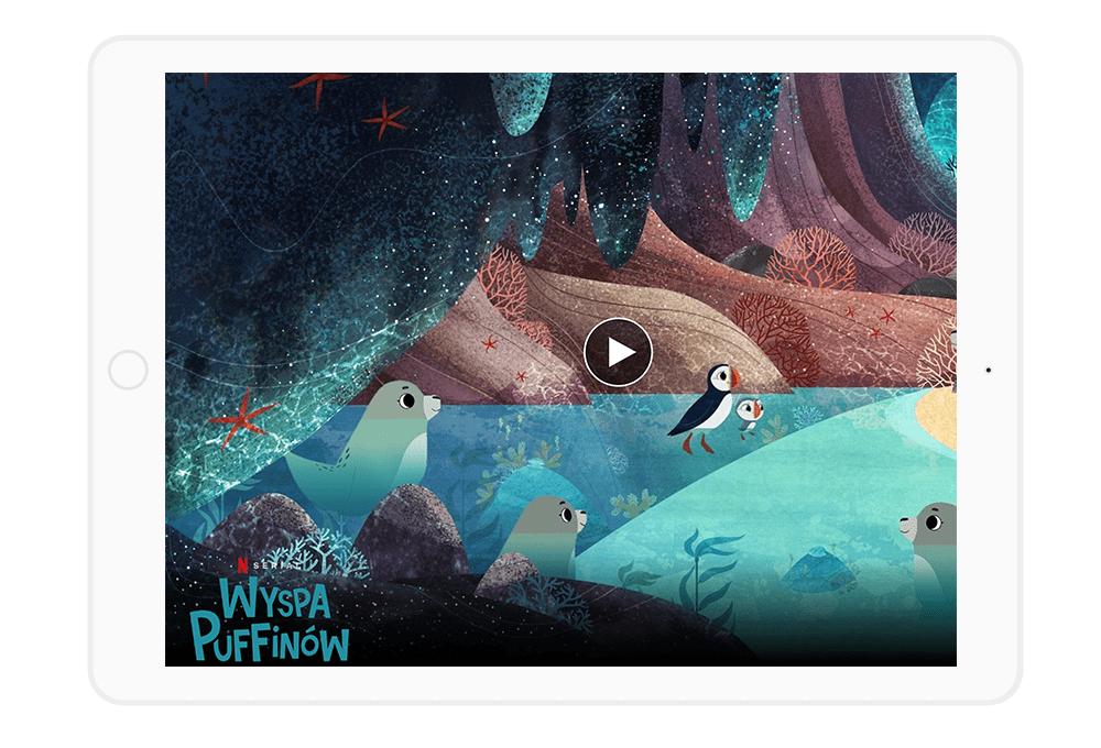 Wyspa Puffinów to jedna z najciekawszych propozycji na Netflix dla dzieci.
