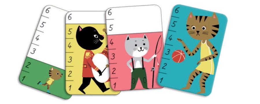 Karciane gry dla 3 latków to świetny pomysł na prezent dla najmłodszych dzieci.