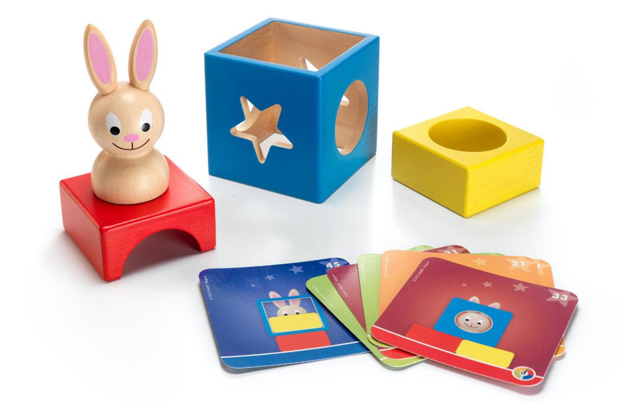 Drewniana gra dla 2 latka - Króliczek, producent: Smart Games.