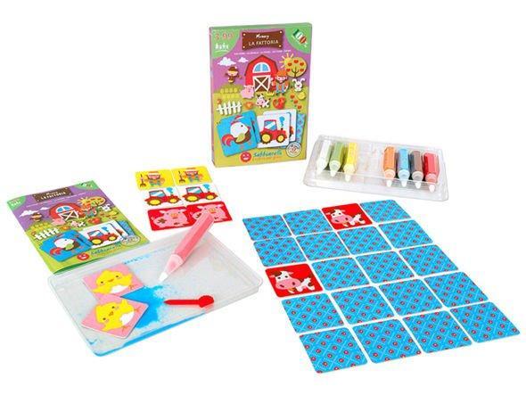Memo to ćwiczenia spostrzegawczości i pamięci - jedna z najlepszych propozycji w kategorii gry dla 3 latków.