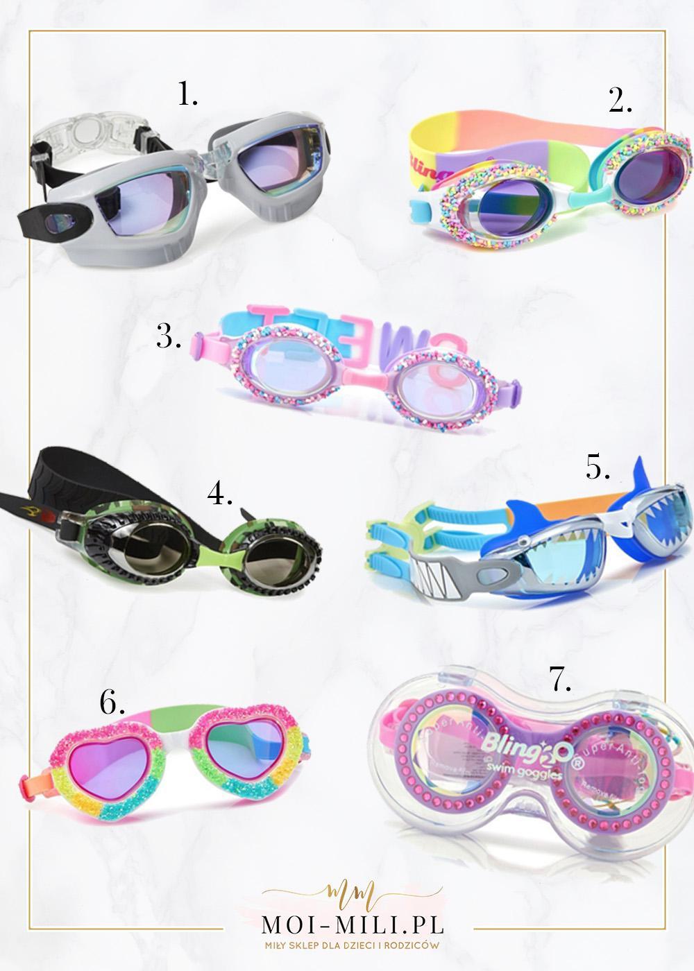 Okularki, które wyglądają jak zabawki do wody - czad!