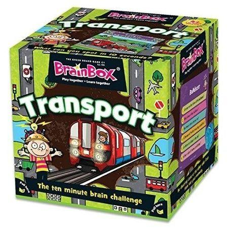 Gry dla 4 latków pomagają ćwiczyć pamięć i koncentrację - przykładem jest wspaniały BrainBox Transport.