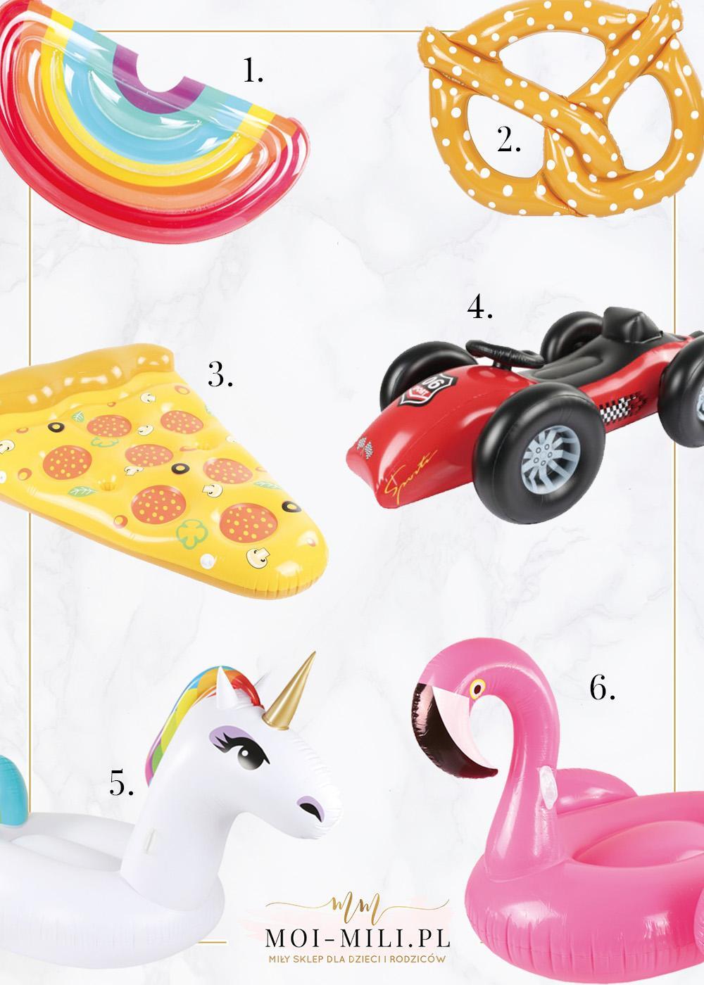 Dmuchane zabawki do wody to prawdziwy hit, nie tylko dla dzieci.