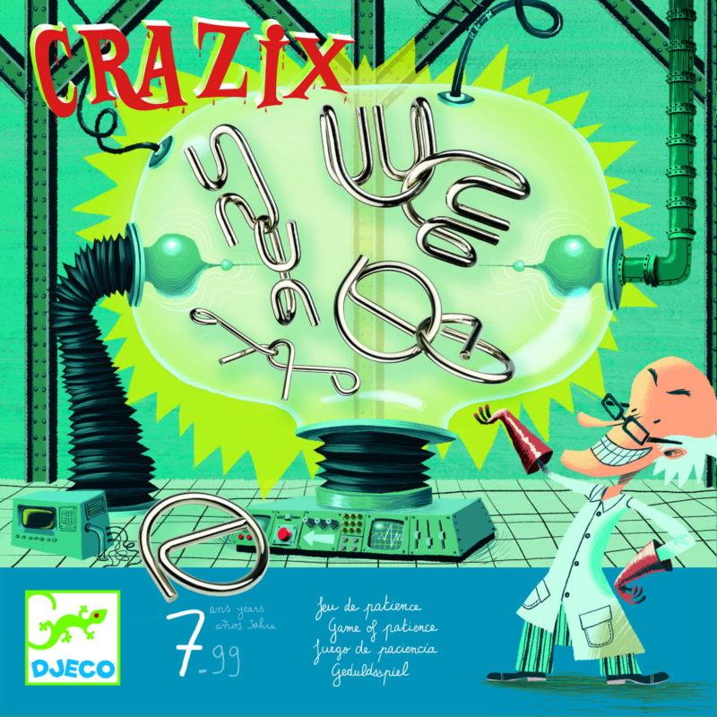 Crazix to łamigłówki i idealne logiczne gry dla 7 latków.