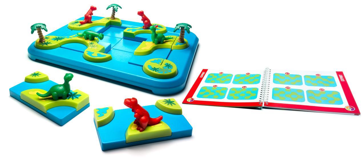 Dinozaury to propozycja logicznej gry dla 6 latków.