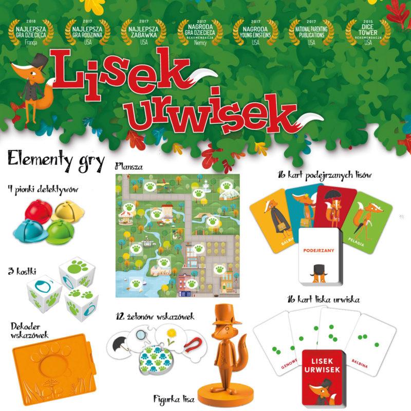 Lisek Urwisek to wspaniała kooperacyjna gra dla 5 latków, która zdobyła nagrody na całym świecie.