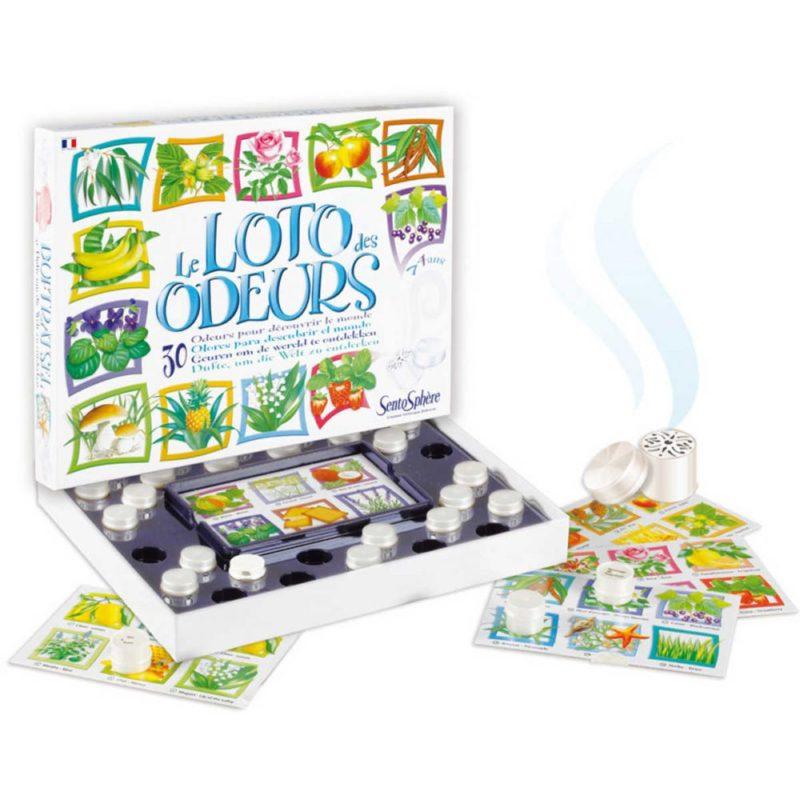 Bardzo ciekawa propozycja gry dla 5 latków to Lotto Zapachowe - gra sensoryczna.