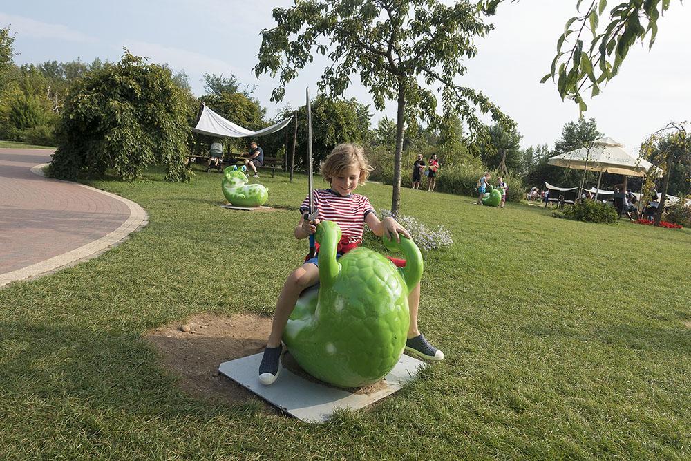 Magiczne Ogrody to mnóstwo atrakcji dla dzieci w różnym wieku.