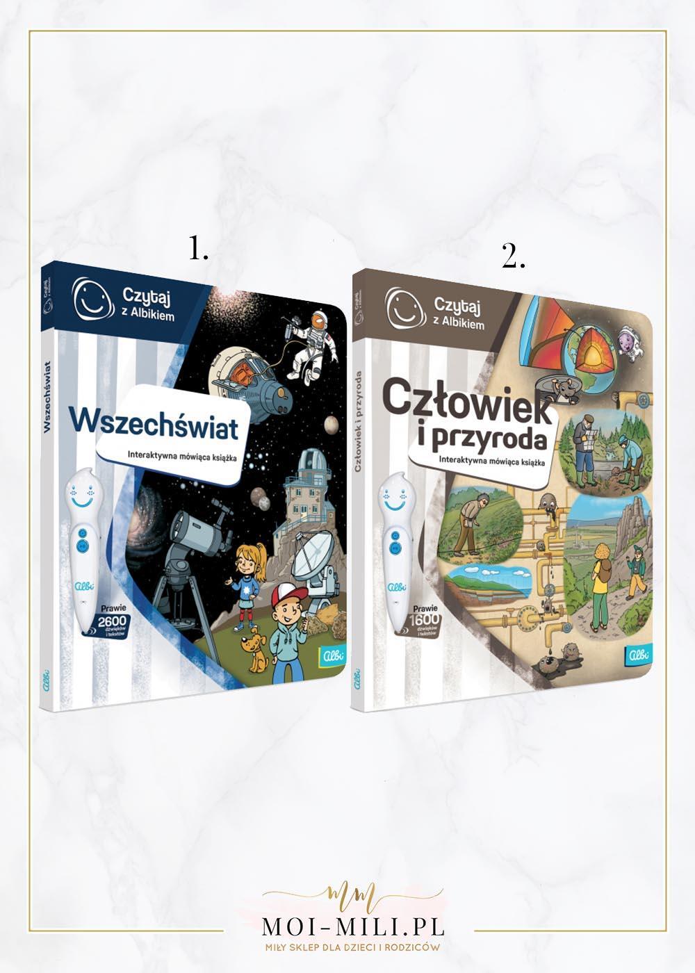 Nowe, interaktywne książki, które współpracują z piórem Albik.