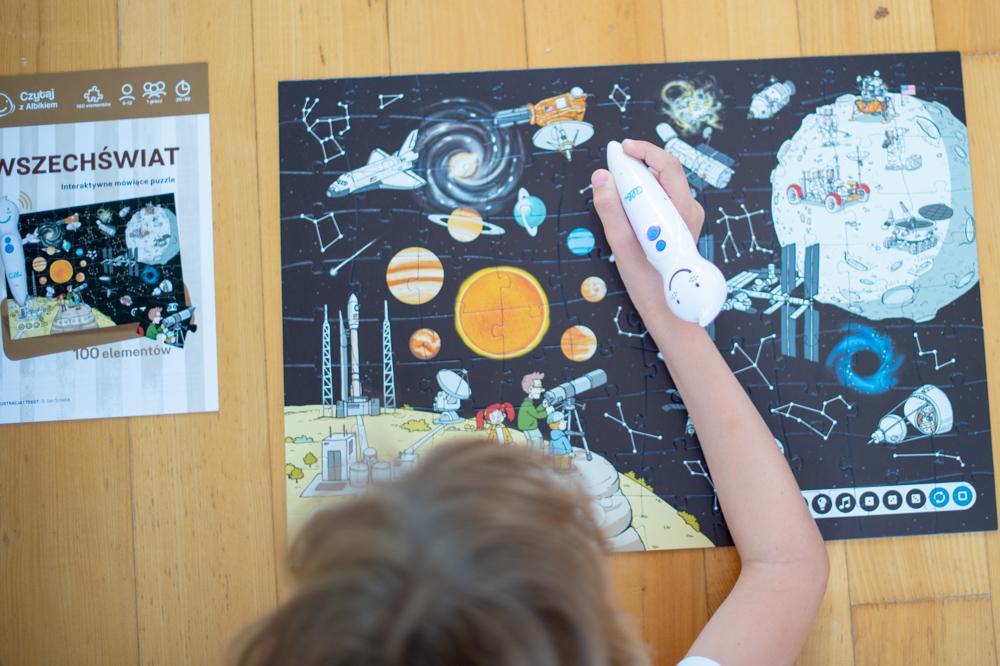 Puzzle Albik - Wszechświat