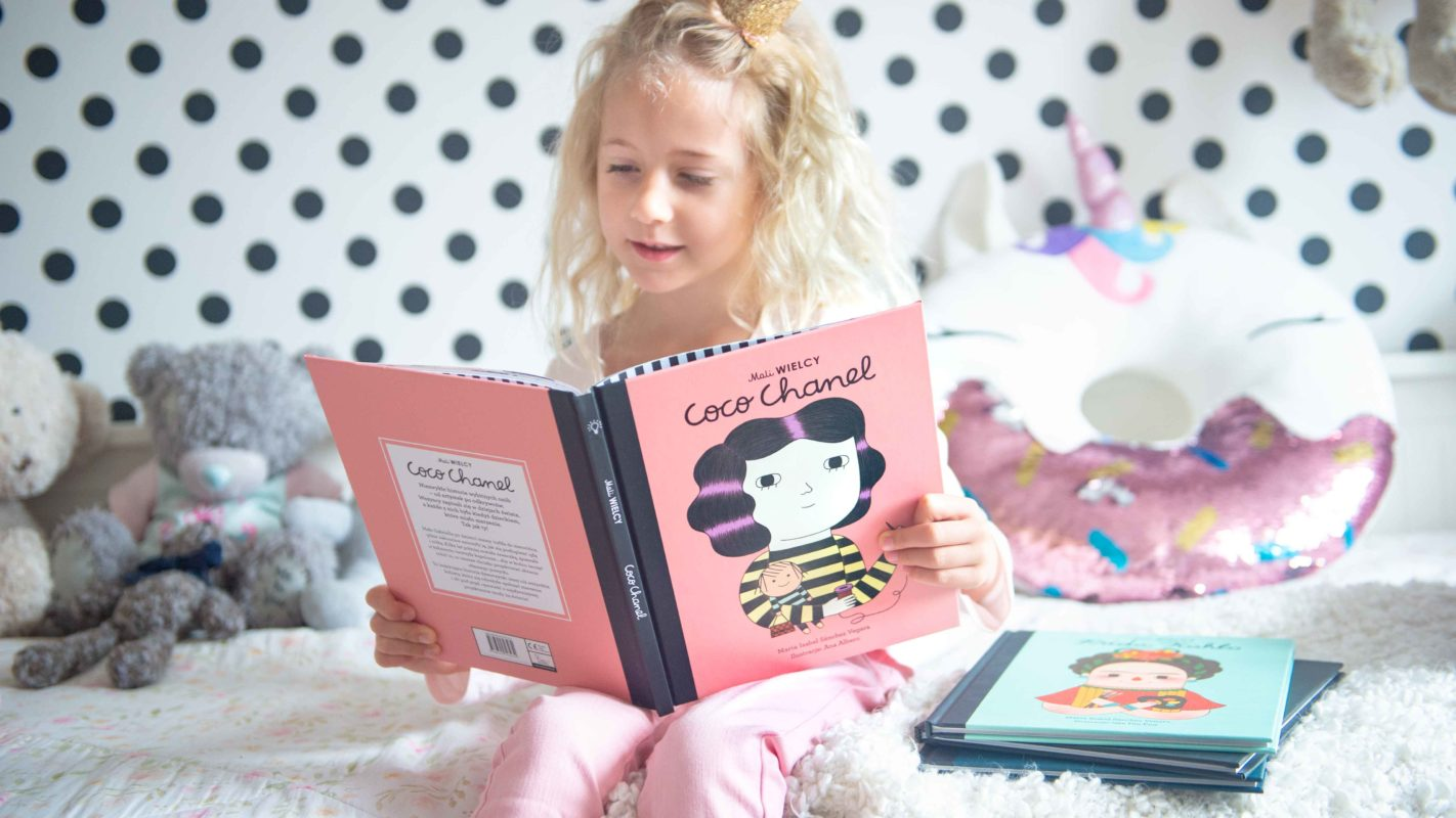 Mali WIELCY to inspirująca seria książek dla dzieci, przedstawiająca znanych ludzi - odkrywców, naukowców, artystów.