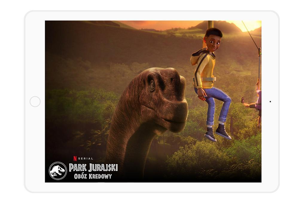 Netflix dla dzieci przygotował serial Park Jurajski: Obóz Kredowy.
