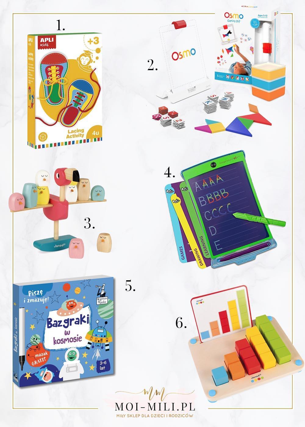 Zabawka edukacyjna to świetny pomysł na prezent dla 4 latka.