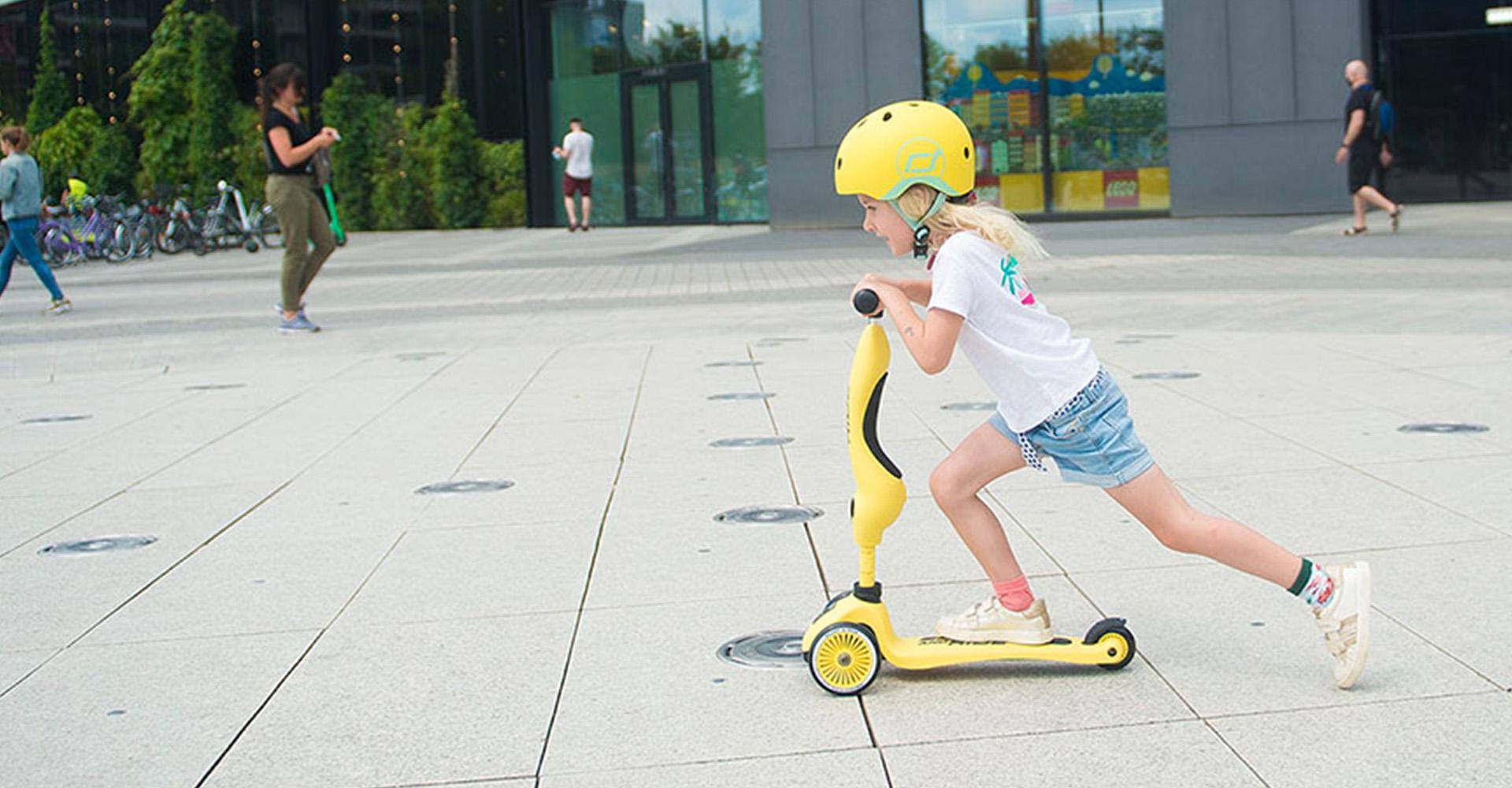 Świetny jeździk i hulajnoga Highwaykick od Scoot & Ride