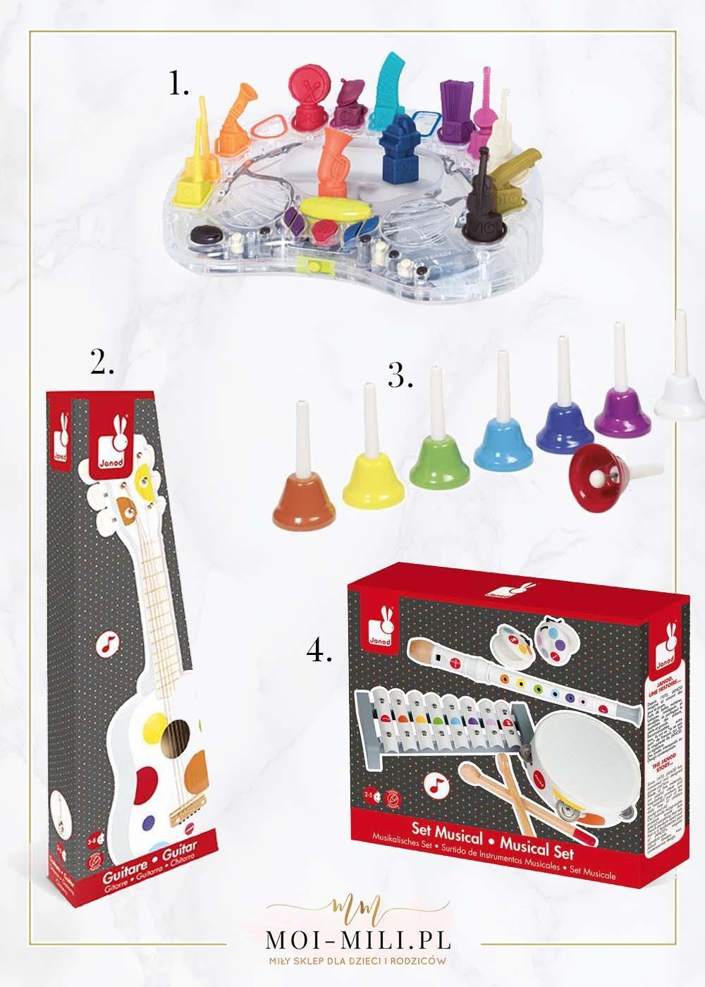 Zabawki muzyczne to świetny pomysł na prezent dla 5 latka.