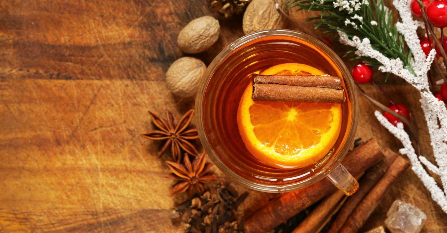 Pyszna zimowa herbata - przepis