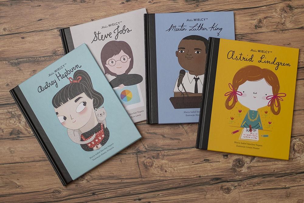 Fascynujące biografie dla dzieci, czyli seria Mali WIELCY