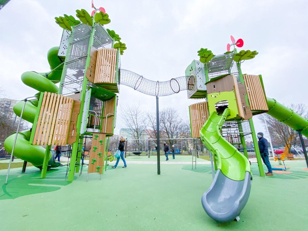 Dżungla w Warszawie, czyli plac zabaw na Wawrzyszewie