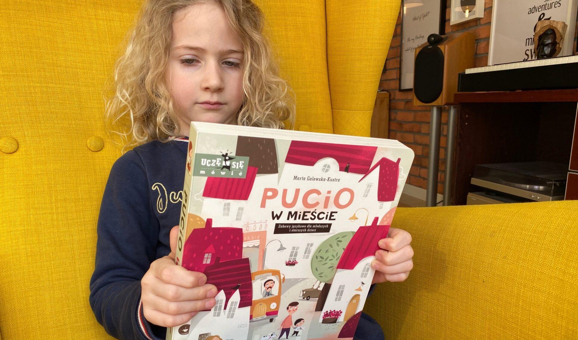 Już jest: Pucio w mieście, czyli zabawy językowe dla młodszych i starszych dzieci