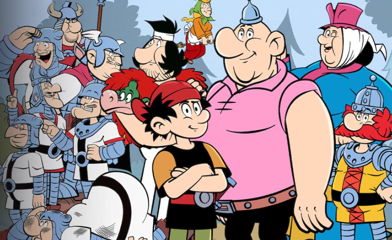 Kajko i Kokosz na Netflix to prawdopodobnie najlepszy polski serial animowany