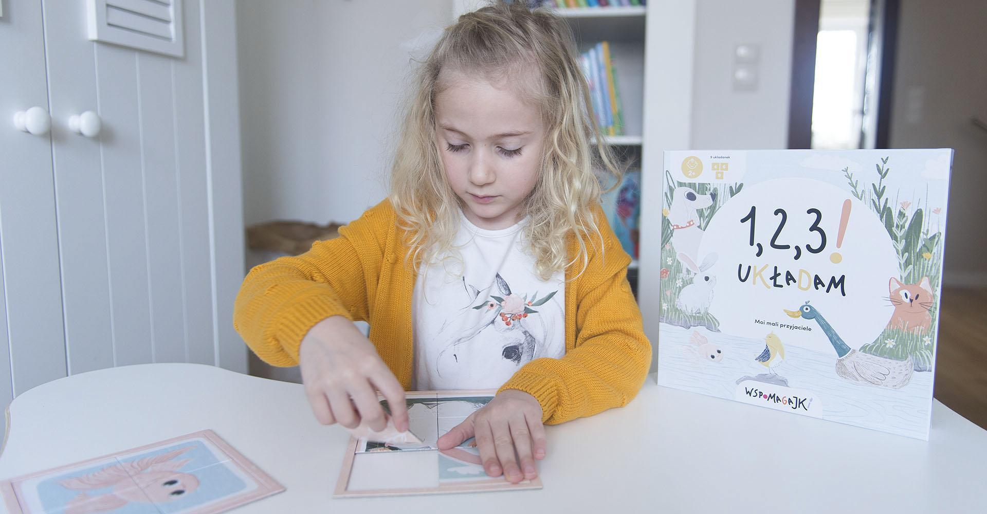 Wspomagajki – rozwijające gry i układanki dla dzieci + NIESPODZIANKA!