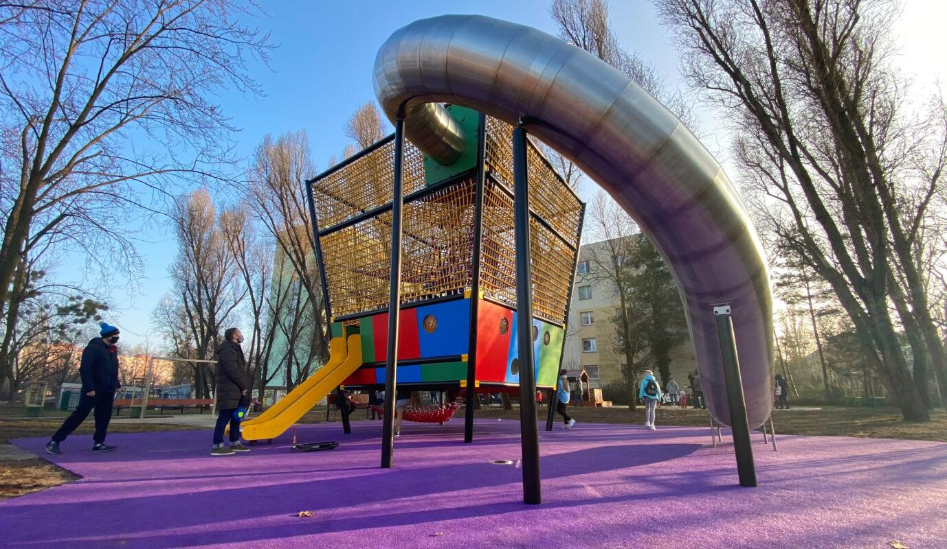 Park Herberta na Bielanach - miejsce dla całej rodziny
