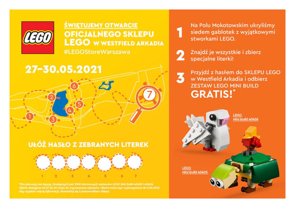Z okazji Dnia Dziecka - rodzinna zabawa z LEGO w Warszawie!