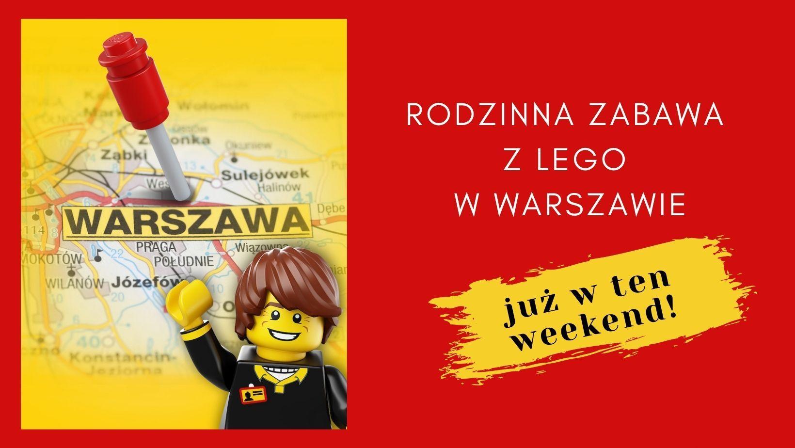 Z okazji Dnia Dziecka – rodzinna zabawa z LEGO i niezwykła wystawa w Warszawie!