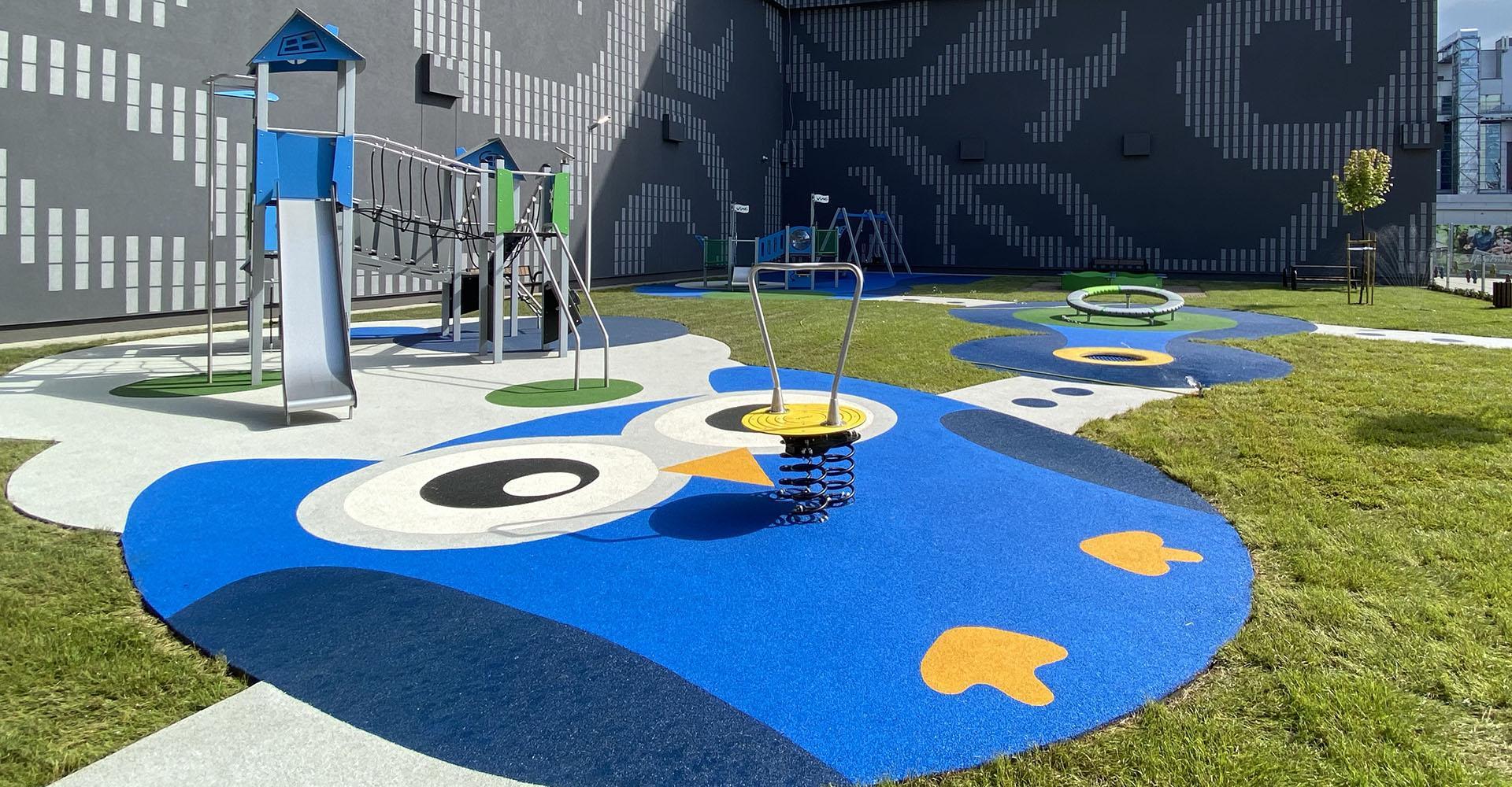 Plac zabaw przy Atrium Promenada